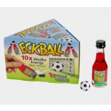 ECKBALL 10 x 20 ml und 1 Mini Fußball EM Spass