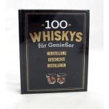 100 Whiskys für Genießer, gebundene Ausgabe ca. 20,5 x 15,5 cm