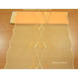 Flächenpaneel Tischläufer orange Breite 60 cm