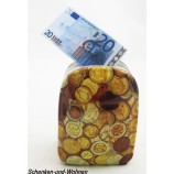 "Keramik-Spardose Reisetrolly ""Money"" Münzen ca. 12 x 6,5 x 8,5 cm"
