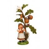 Hubrig - Blumenkind - Herbstkind mit Eichel 13 cm