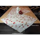 Tischläufer 40 x 100 cm Herzanhänger mit Elch