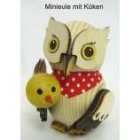 Kuhnert - Minieule mit Küken - Neuheit 2021 ca. 7 cm