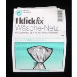 1 Klick-Fix Wäsche-Netz mit Zugkordel ca. 25 x 40 cm