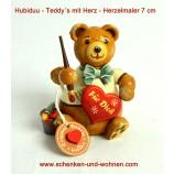 Hubrig Teddy Herzelmaler  7 cm