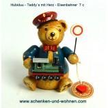 Hubrig Teddy Eisenbahner  7 cm