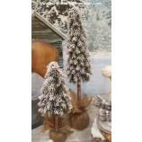 Dekorativer Baum mit Schnee 59 cm Tanne