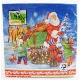 Weihnachts-Lunch-Servietten Weihnachtsmann 20 Stück 33 x 33 cm