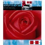 Wandaufkleber 4 Stück Rose Wandtattoo