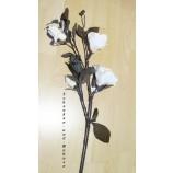 Magnolienzweig, künstlich  Weiß ca. 100 cm