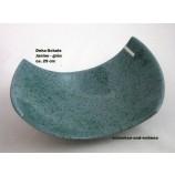Keramik-Schale Janine grün ca. 29 x 18 x 9 cm (L/B/H)