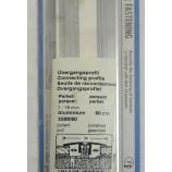 Übergangsprofil für Beläge 7-16mm Alu eloxiert 44mmx90cm (BxL)