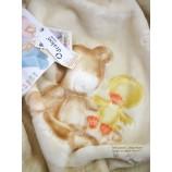 Wohn-und Schlafdecke  Baby Perla Beige, Dessin 549 ca. 80 x 110cm