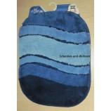 """Badteppich """"Siesta"""" von Kleine Wolke Azurblau, 55 x 65 cm"""