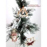 Baumbehang Weihnachtshänger mit beweglichem Engel 3-teilig
