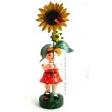 Hubrig - Blumenmädchen Sonnenblume ca. 53 cm Gesamthöhe mit Blume