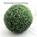 Künstliche Buchsbaumkugel Buxus 43 cm Durchmesser