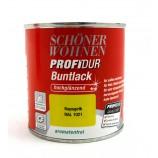 ProfiDur Buntlack - Kunstharzlack, hochglänzend RAL 1021 Rapsgelb 375 ml