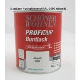 ProfiDur Buntlack - Kunstharzlack, hochglänzend RAL 0096 Altweiß 750 ml