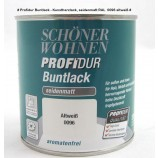 ProfiDur Buntlack - Kunstharzlack, seidenmatt RAL 0096 altweiß 0,375 l