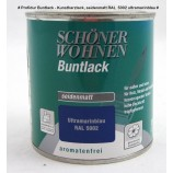 Profidur Buntlack - Kunstharzlack, seidenmatt RAL  5002 ultramarinblau 0,125 l
