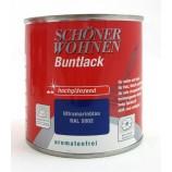 ProfiDur Buntlack - Kunstharzlack, hochglänzend RAL 5002 Ultramarinblau 375 ml