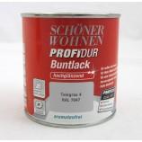 ProfiDur Buntlack - Kunstharzlack,  RAL 7047 Telegrau 4 hochglänzend, 375 ml