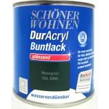 Duracryl Buntlack glänzend Moosgrün RAL6005 wasserverdünnbar 125 ml