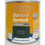 DurAcryl Buntlack seidenmatt RAL 6005 Moosgrün 375 ml
