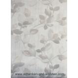 Vliestapete mit Blattmotiv 6972-37 - Beige, Grau Silber 10,05 x 0,53 m