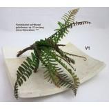 1 Farnbüschel auf Wurzel, künstlich, ca. 27 cm, sortiert