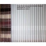 Fertigstores mit Faltenband 4er Falte BxH 2,10 x 2,20 Stickerei