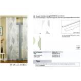 Schiebevorhang Anemone weiß 60x245 cm
