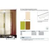 SB-Paneele / Schiebevorhang Kos grün 60 x 245 cm