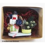 "Geschenke-Box  ""RM-Teelichthalter Lisa/Toni"" 14 cm sortiert"