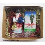 """Geschenke-Box Räuchermann Lisa/Toni"""" ca. 13 cm sortiert"""
