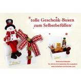Geschenk-Box zum Selbstbefüllen Schneemann