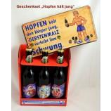 """Geschenk-Set """"Hopfen hält jung"""""""