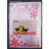 Geburtstagskarte Glückwunschkarte mit Schutzengelmotiv 51-4440