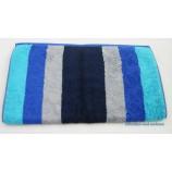 Handtuch mit Blockstreifen, Blau ca. 50 x 100 cm