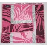 1 Handtuch Riva, rosa/pink gemustert 50x100 cm