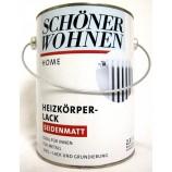 Home Heizkörperlack 2,5l weiß, seidenmatt, Acryllack SW