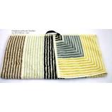 Handtuch Streifen mehrfarbig ca. 50 x 100 cm