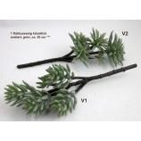 1 Kaktuszweig künstlich, sortiert, grün, ca. 30 cm