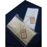 Büttenbriefset natural Briefpapier-hell