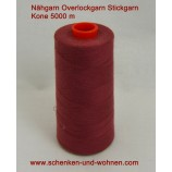 Nähgarn, Overlockgarn Stickgarn 120 Kone 5000 mFb. 2222 rosenholz