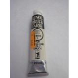 Linol-Druck-Farbe weiß Wasserfarbe Tube 20 ml