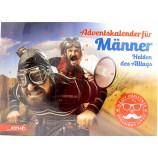 Männer - Adventskalender - Helden des Alltags - ca. 50 x 35 x 4 cm