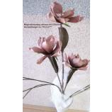 Magnolienzweig, künstlich  altrosa ca. 110 cm