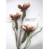 Magnolienzweig, künstlich  Herbstbraun ca. 110 cm